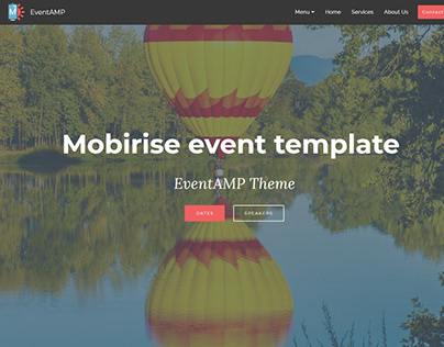 https://mobirise.com/extensions/eventamp/