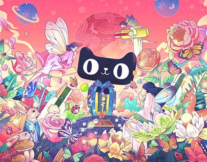 天猫×三生花双十一