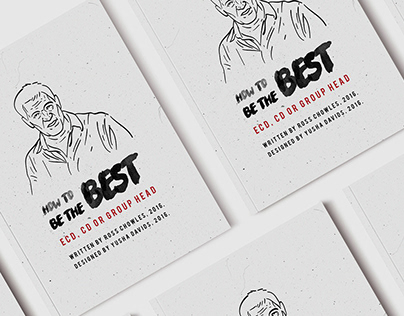 How to be the best ECD, CD or Group Head booklet