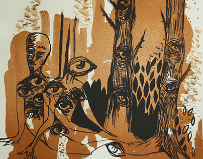 Lithography/Serigraphy/Canvas