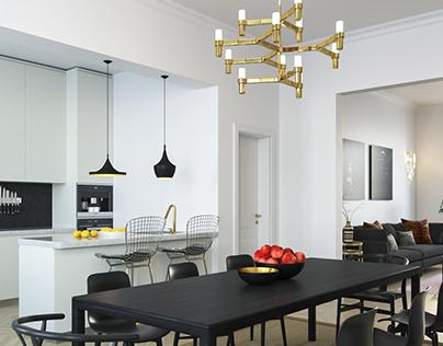 Private interior in london