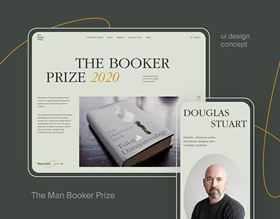 The Man Booker Prize re-design concept