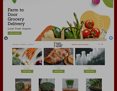 Shopify Multi product store(Vegetable )