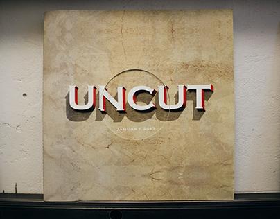 Uncut Magazine Redesign