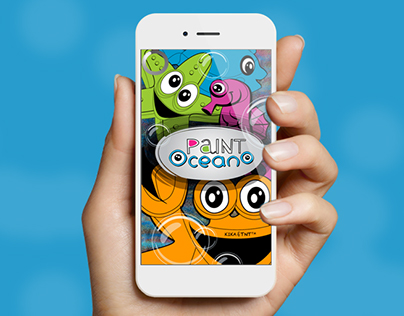 App design, coloring app