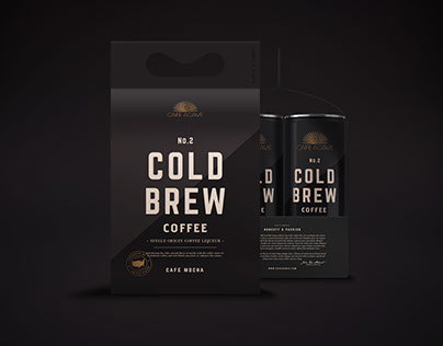 Cold Brew Coffee Package Design