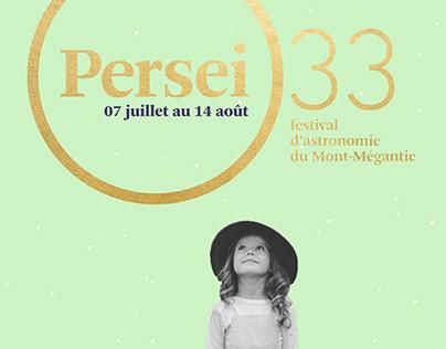 P E R S E I — festival d'astronomie du Mont-Mégantic