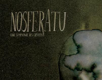 Book Cover Design for BFI's Gothic Season 'Nosferatu'
