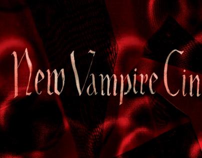 Book Cover Design for BFI's 'New Vampire Cinema'.