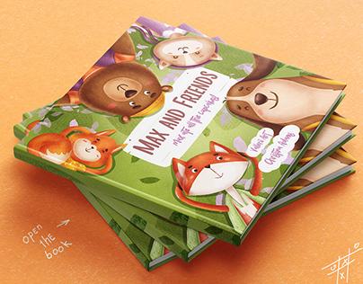 "Children's book ""Max and Friends"""