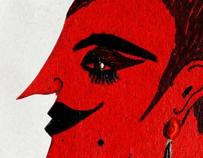 Weimar Cabaret: A Dance on a Volcano (art installation)
