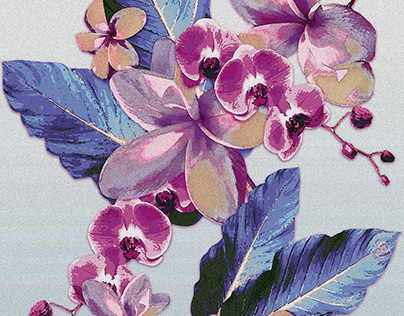 Tropical Vintage Plumerias Collection