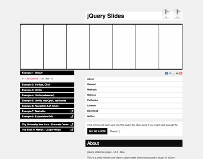 jQuery Slides Plugin
