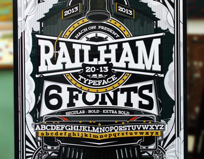 RAILHAM - Great Western TYPEFACE