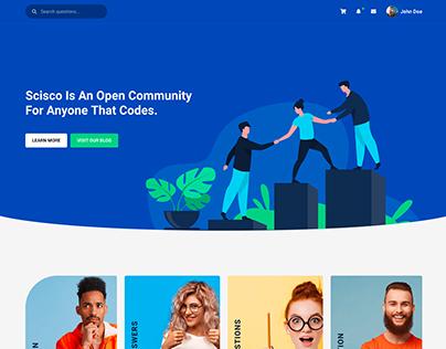 Scisco - Q&A WordPress Theme