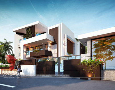 Exclusive 3D Architectural Rendering Of Bungalow