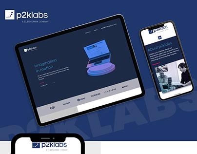Implementación de sitio web para P2K labs