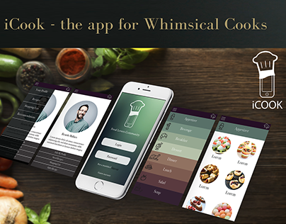 iCook App Development
