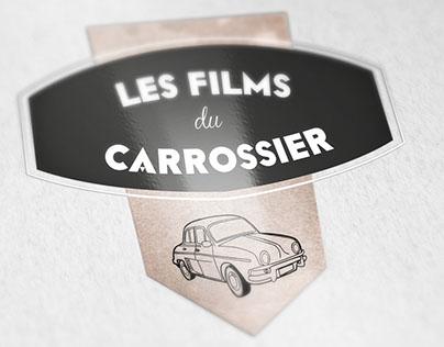 "Logotype ""Les films du carrossier"""