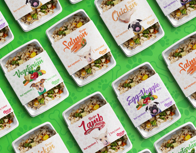 Oscar Daisy | Fresh Pet Food Branding Concept