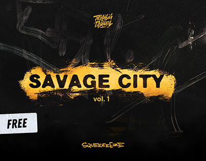 Savage City // shots of walls and textures / free pack