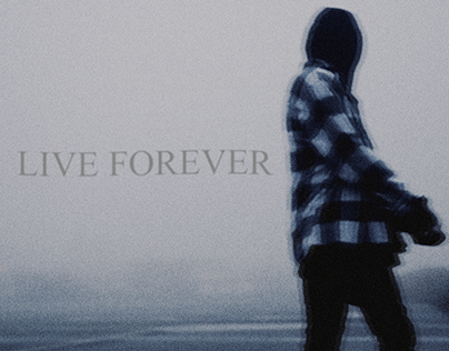 LIVE FOREVER (lil peep inspired coverart)