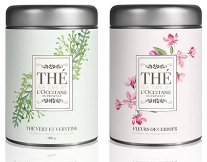 THÉ by L'Occitane (Academic Project SCAD)