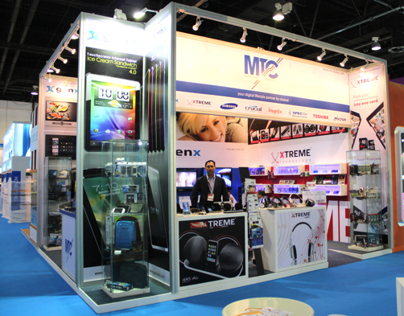 GITEX 2011 & 2012, Organised & Branding