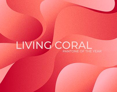 Living Coral - FREE WALLPAPER PATTERNS