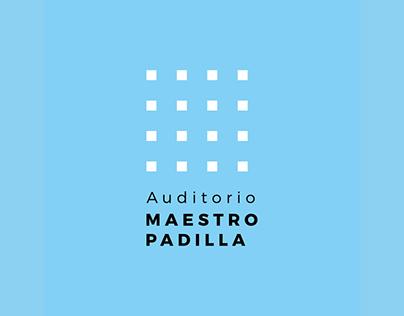 Auditorio Maestro Padilla - Branding
