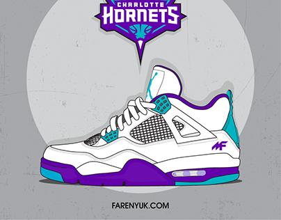 Jordans 4 Charlotte Hornets