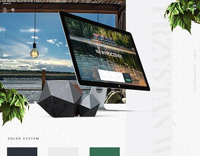 Przystań Wygonin / Luxury apartments