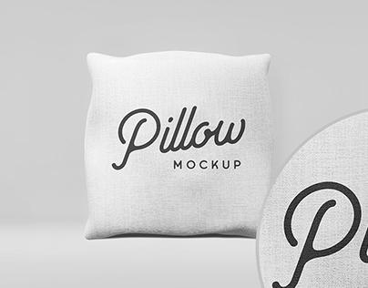 Minimalist Pillow Mock-Up