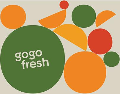 Gogo Fresh / Branding