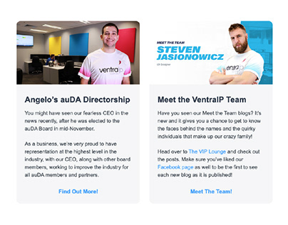 VentraIP Aus: HTML Newsletter Templates