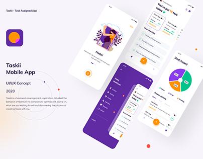 Taskii Assignment App - UI/UX