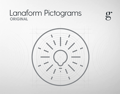 Lanaform Pictograms & Icons [200+]