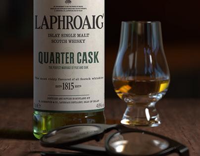 Laphroaig Bottle