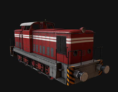 Trains- Game assets