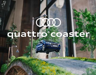 Audi quattro®coaster AR