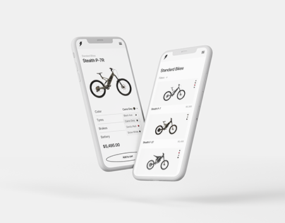Stealth Electric Bikes - website