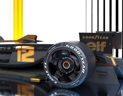 Autonomous racing car
