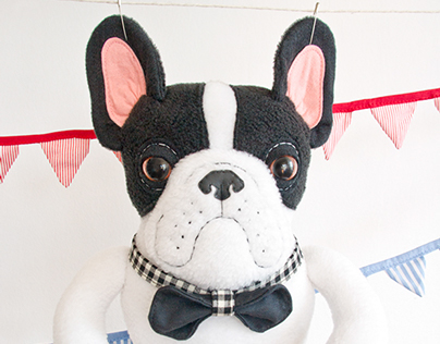 Frenchie, the Bulldog