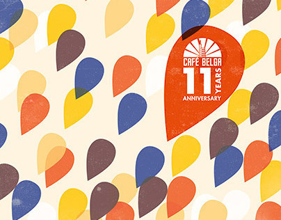 11 years anniversary – Café Belga