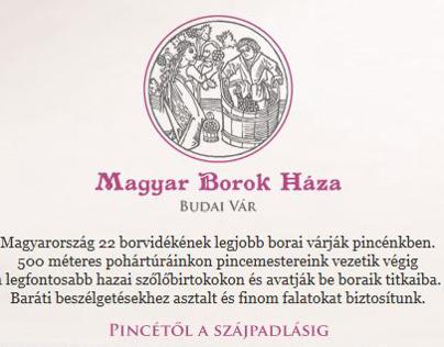 Magyar Borok Háza - Budai Vár