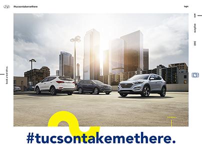 Hyundai Tucson Campaign Website (Concept)