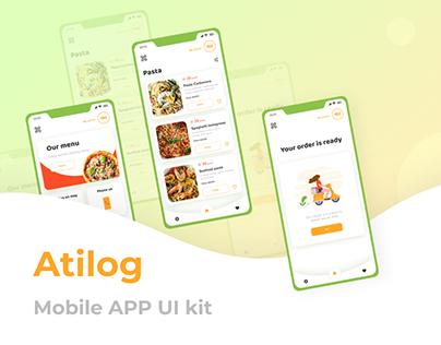Atilog - Free Mobile APP UI kit