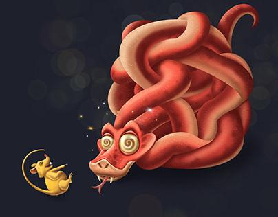 Snake & Mouse