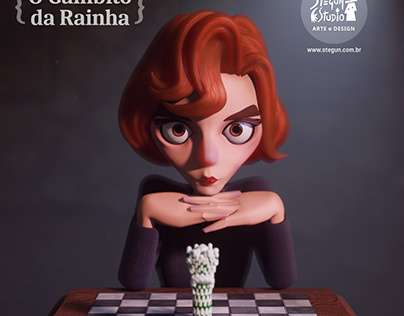 O Gambito da Rainha | The Queen´s Gambit | FanArt
