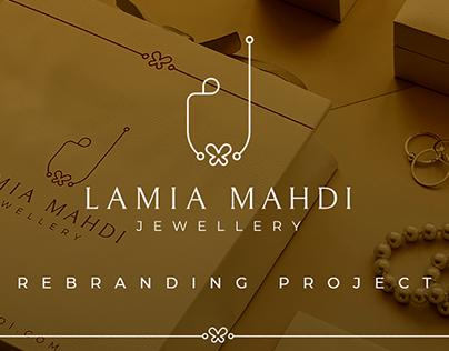 Lamia Mahdi-Rebranding Project